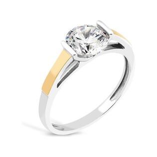 Srebrny pierścionek z cyrkonią AG PX 781_AU375