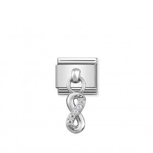 Element Link NOMINATION Composable AG charms infinity wiszące NP 331800 10 AZ KK