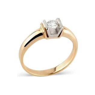 Pierścionek zaręczynowy z diamentem ETERNO nr DI 222-05 próba 585 ETERNO