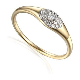 Pierścionek zareczynowy z diamentami WENUS nr AW 63750 YW próba 585
