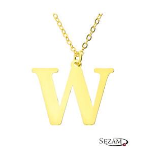 Naszyjnik W AT204-W GOLD próba 925