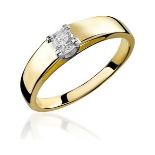 Pierścionek zaręczynowy z diamentem Amado nr RS RS0376