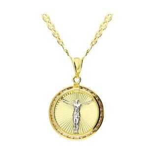 Złoty komplet na Pierwszą Komunię Świętą 51U0-STP0011-1-TC + FPBCGDE 050 pr. 375