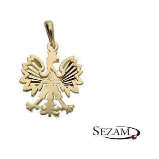 Zawieszka złota godło Polski nr MX 27LZP1779 Au 585