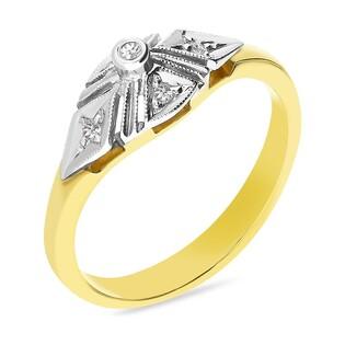Pierścionek zaręczynowy z diamentami nr GR 67-05-F