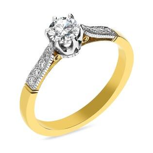 Pierścionek zaręczynowy z diamentami nr MC 20-11-K-17