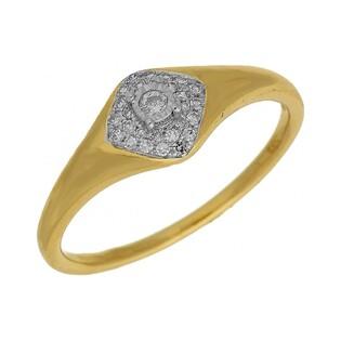 Pierścionek zaręczynowy z diamentami WENUS numer AW 63751 YW