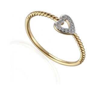 Pierścionek zaręczynowy z brylantami RINGS numer AW 60117 Y