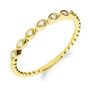 Pierścionek złoty RINGS nr AW 61163 Y próba 585 RINGS