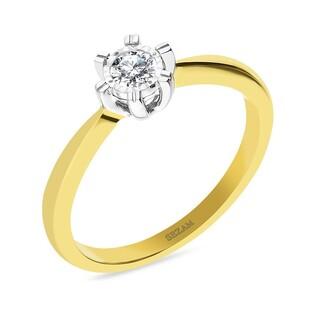 Pierścionek zaręczynowy z diamentem ROYAL Magic nr KU 8210 próba 585