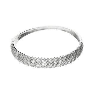 Bransoleta srebrna bangle z cyrkoniami nr A0 AUR 011 próba 925