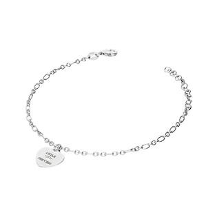 Bransoletka srebrna napis LITTLE PRINCESS nr NI381 próba 925