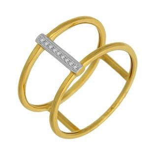 Pierścionek zaręczynowy z diamentami numer AW 63847 Y VENEZIA Fancy