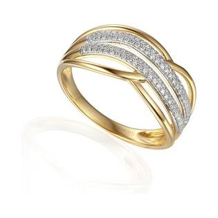 Pierścionek zaręczynowy z diamentami numer AW 63738 Y VENEZIA