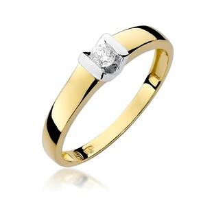 Pierścionek zaręczynowy VICTORIA nr BE W-249 złoto 585 ELEGANCE