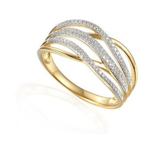 Pierścionek zaręczynowy z diamentami numer AW 63736 Y VENEZIA