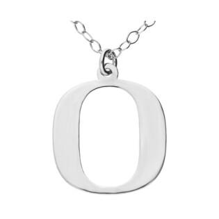 Naszyjnik srebrny literka O nr. AT204-O ROD próba 925