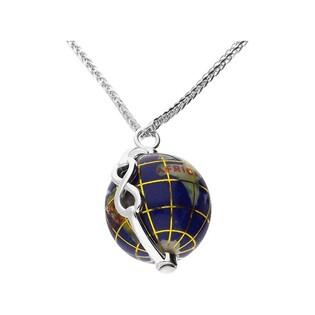 Naszyjnik World of Love-infinity/lisi ogon CP NPC93443 globus kam.naturalne próba 925