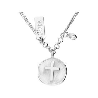 Naszyjnik srebrny z krzyżem w kole TA CLT10289 próba 925