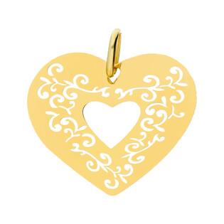 Serduszko serce ramka+ornament CB B-350 próba 585