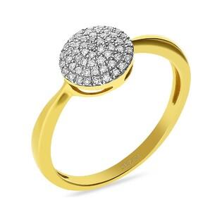 Pierścionek zaręczynowy z diamentami nr VE 3335 SWEET