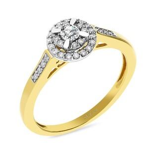 Pierścionek zaręczynowy z diamentem nr RQ 429M SWEET