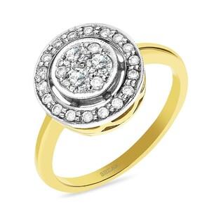 Pierścionek zaręczynowy z diamentami nr GR 63-10-H WIKTORII