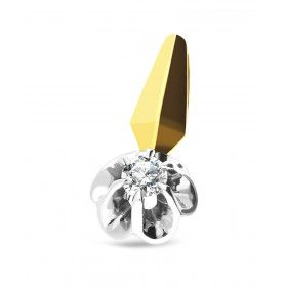 Zawieszka złota z diamentem nr GR WR68