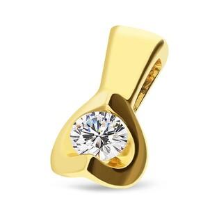 Zawieszka z diamentem ETERNO nr RQ 2038MP próba 585