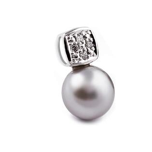 Zawieszka złota z diamentami i perłą nr BU 350293-320277 próba 585