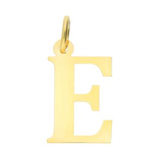 Literka złota E do zawieszenia BC-E próba 585
