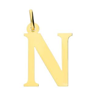 Literka złota N nr. BC-N próba 585
