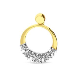 Zawieszka złota z diamentami nr KU 102064-103119