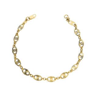 Bransoleta złota blaszki gucci nr AR XJB1220-DC próba 585