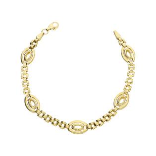 Bransoleta złota owale nr AR VXXRLB2563-DC próba 333
