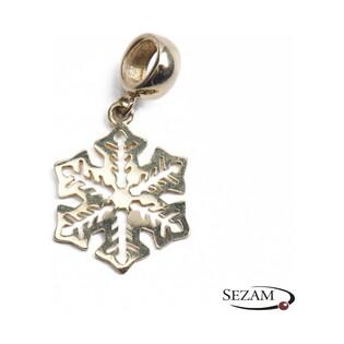 Zawieszka złota ażurowa typu beads numer AR X6CHM0396-2.5MM próba 333