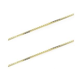 Łańcuszek złoty typu kostka nr VK VEDCO 050 Au 333