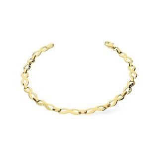 Bransoleta złota symbole nieskończoności nr AR XXB5900-DC Au 333