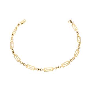 Bransoleta złota prostokąty nr AR JB1227 próba 333