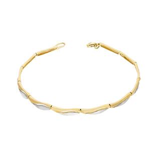 Bransoleta złota falka w dwóch kolorach nr AR XB505815-YW próba 333
