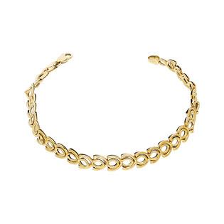 Bransoleta złota łuski ramka nr AR STB8866-L próba 333