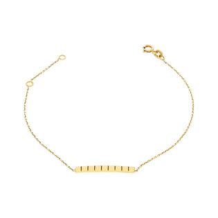 Bransoleta złota blaszka nr MZ T5-B-0218-51 próba 333