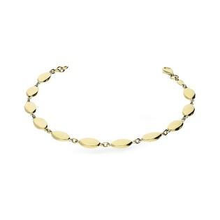 Bransoleta złota gładkie owale nr AR X3STB13581 Au 333
