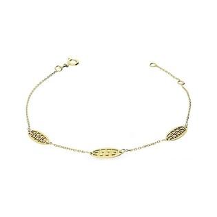 Bransoleta złota greka nr MZ T23-B-0218-2-LZ Au 375