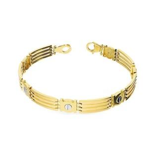 Bransoleta złota nr OS 193-M03 Au 585