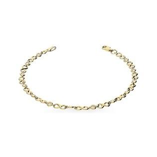 Bransoleta złota z cyrkoniami nr AR 11185-FCZ próba 585