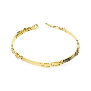 Bransoleta złota męska blaszki nr AR 0923 Au 585