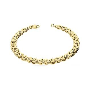 Bransoleta męska złota bizantyna nr AR 9899 Au 333