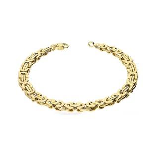 Bransoleta męska złota bizantyna nr AR 9899 Au 585