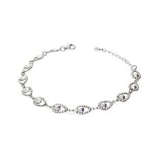 Bransoleta srebrna z kryształami Swarovski GRACE RD 736-1 próba 925